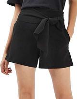 Topshop Tie-Waist Shorts