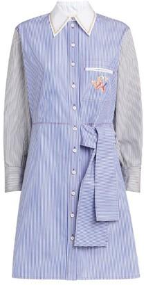 Chloé Two-Tone Shirt Dress