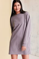 BDG Maeby Oversized Long-Sleeve T-Shirt Dress
