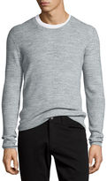 Vince Thermal Long-Sleeve Crewneck T-Shirt