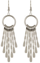 Natasha Accessories Fringe Drop Earrings