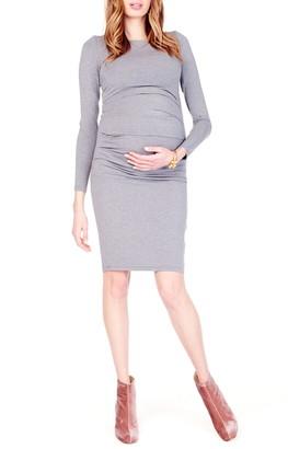 Ingrid & Isabel Shirred Maternity Dress