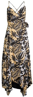 Azulu Luanda Safari Wrap Dress