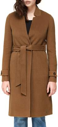Soia & Kyo Wool Blend Belted Coat