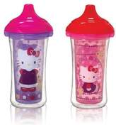 Munchkin Hello Kitty Click Lock 9 Oz Insulated Sippy Cup, 2 count