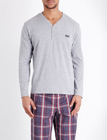 HUGO BOSS Urban check cotton pyjama set