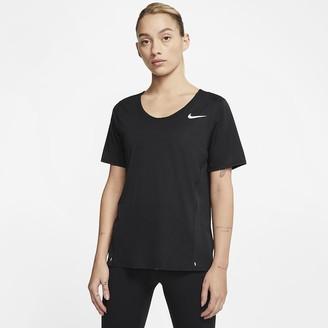 Nike Women's Short-Sleeve Running Top City Sleek