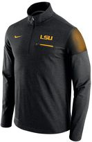 Nike Men's LSU Tigers Elite Coaches Dri-FIT Pullover