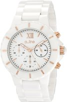 "A Line a_line Women's AL-20041-WWWRR ""Marina"" Ceramic Watch"
