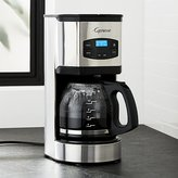 Crate & Barrel Capresso ® 12 Cup Stainless Steel Coffee Maker