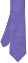J.Mclaughlin Italian Silk Tie in Mini Bridle