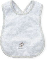 Ralph Lauren Boy Polo Bear Crossback Bib