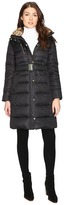 Cole Haan Signature Quilted Coat with Faux Fur Lining Women's Coat