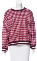 Max Mara Printed Long Sleeve Sweater