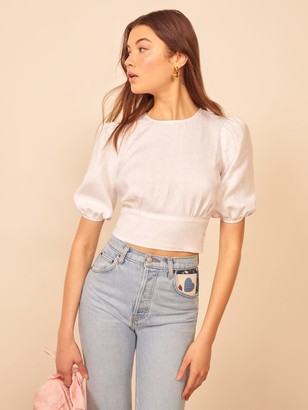 Reformation Seychelles Top