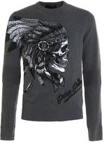 Philipp Plein Visible Embroidered Crewneck