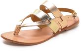 Joie a la Plage Positano Metallic Sandals