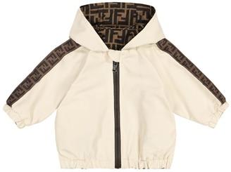 Fendi Kids Baby FF reversible jacket