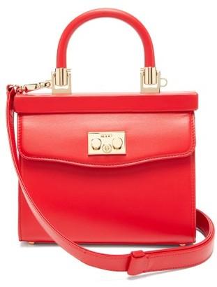 Rodo Paris Small Leather Handbag - Red