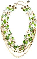 """Laundry by Shelli Segal Bead Chain Choker Necklace, 13.5"""" + 4"""" Extender"""