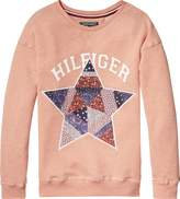 Tommy Hilfiger Girls Star Patch Sweatshirt