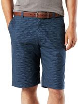 Dockers Printed Cotton-Stretch Shorts