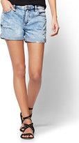 """New York & Co. Soho Jeans - 4"""" Short - Blue Stunner Wash"""