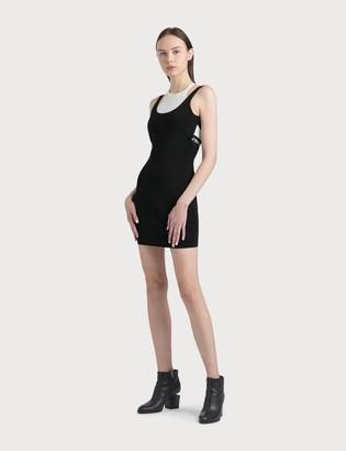 Alexander Wang Alexander Wang.T Bodycon Bi-layer Tank Dress