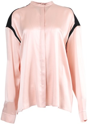 Haider Ackermann Silk Contrasting Panel Blouse