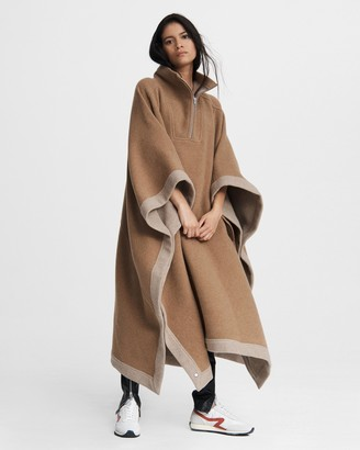 Rag & Bone Marie wool blend cape