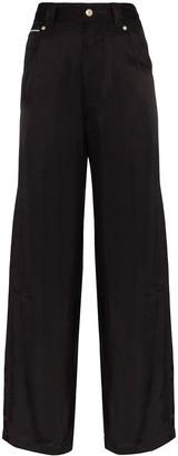 Eytys High-Waisted Straight Leg Trousers