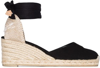 Castaner Carina 60 ankle-tie wedge sandals