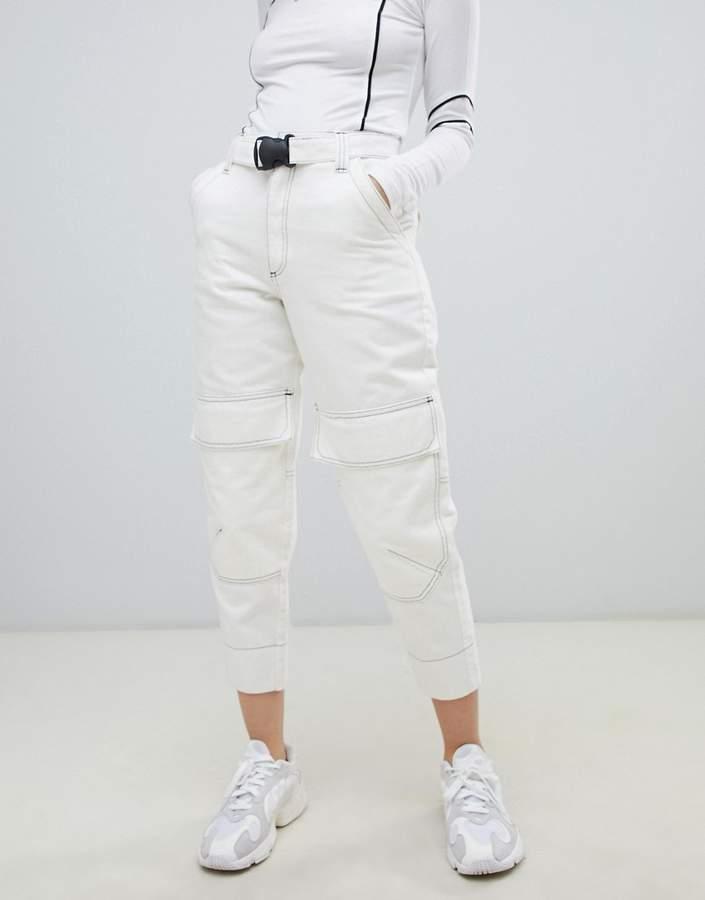 d1845f5593434f Asos White Women's Jeans - ShopStyle