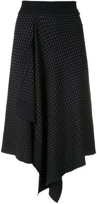 Egrey Pontilhada knit skirt