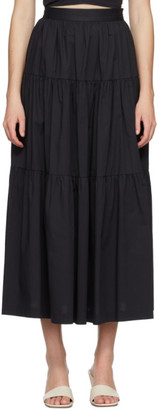 STAUD Black Sea Skirt