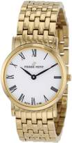 Pierre Petit Women's P-788H Serie Nizza Classic Dial Yellow-Gold PVD Watch