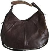 Saint Laurent Mombasa brown leather handbag