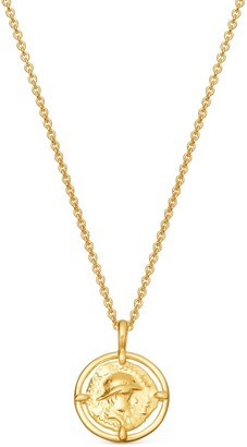 Missoma Lucy Williams Mini Rope Coin Necklace