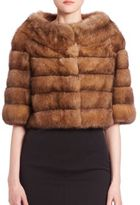 The Fur Salon Sable Fur Bolero