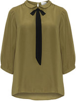 Junarose Plus Size Peter Pan collar blouse