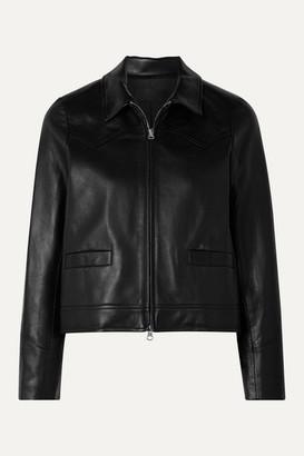 Nili Lotan Jaley Leather Jacket - Black