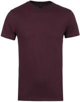 Replay Burgundy Short Sleeve T-shirt