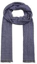 Reversible jacquard scarf
