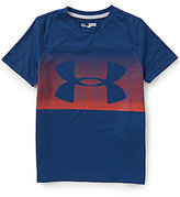 Under Armour Big Boys 8-20 Sunblock Short-Sleeve Tee