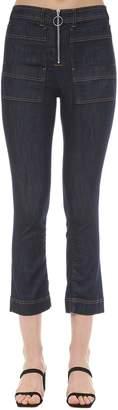 3x1 Scarlet Zipped Cotton Denim Jeans