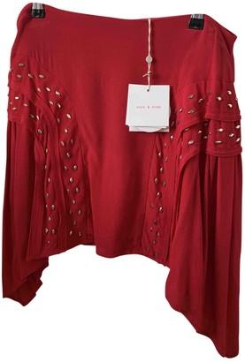 Sass & Bide Red Viscose Skirts