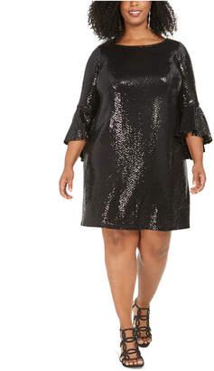 Msk Dresses Bell Sleeve - ShopStyle
