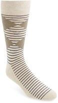 Nordstrom 'Cushion Foot' Argyle & Stripe Socks (3 for $30)