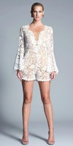Julian Chang Jame Long Sleeve Lace Romper