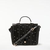 Somerset by Alice Temperley Berkley Leather Satchel, Black Stars